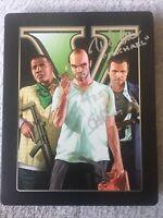 RARE SIGNED!! Grand Theft Auto V Five GTA PS3 Collectors Edition STEELBOOK