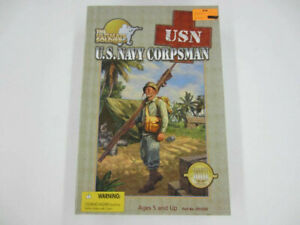 21st Century Toys The Ultimate Soldier WWII I USN US Navy CORPSMAN Action Figure