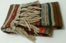 ACCESSORIZE womens SCARF rectangular long ladies neck tassels warm boho shawl
