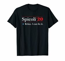 Fast Times At Ridgemont High Spicoli'20 Relax I Can Fix It Black T-Shirt S-6XL
