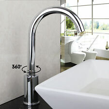 360° Swivel Hands Free Automatic Electronic  Mixer Sensor Tap Faucet bathroom