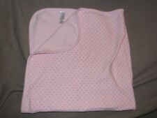 CARTERS PRECIOUS FIRSTS BABY GIRL PINK BUTTERFLY BUTTERFLIES COTTON BLANKET