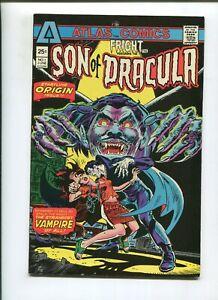 FRIGHT #1 (9.2) UNTO DRACULA WAS BORN A SON! 1975