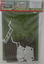 BUSCH 1052 Football Pitch With Goals & Spectator Stand 00/HO Model Railway
