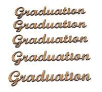 Graduation wording Pack of 5 craft letters, Graduation gift ideas, 10cm, 15cm