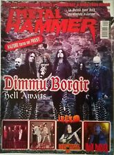 METAL HAMMER N°8 2003 DIMMU BORGIR LABIRINTH JANE'S ADDICTION IRON MAIDEN GAMMA