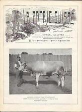 """""""LA PATRIE SUISSE"""" 30 septembre 1896 /// Voir description complète"""