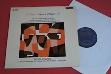 MB 855 Valois Stereo J.S Bach Organ Works Michel Chapuis Vol.15 FRANCE LP 1969