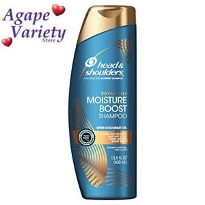 Head and Shoulders Shampoo, Moisture Renewal, 13.5 Fl Oz (Pack of 1), Shampoo