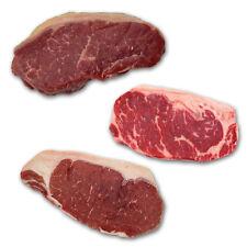 Strip Loin Probierpaket - Black Angus / Bison / Irish Hereford, Roastbeef
