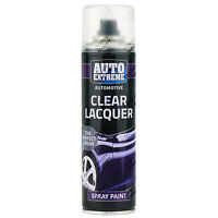 6 x 250ml Clear Lacquer Gloss Spray Paint Aerosol Can Auto Extreme Metal Wood