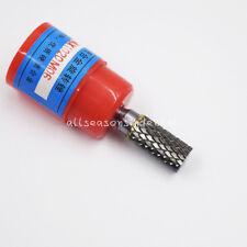 """1 Pc Cylindrical Tungsten Carbide Burr Bur Cutter Tool Grinder Bit 1/4"""" Shank A"""