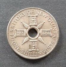 Territory of New Guinea, Silver 1 Shilling, 1938, lustrous