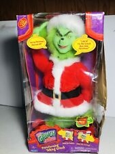Dr Seuss How the Grinch Stole Christmas Transforming Talking Plush Doll -