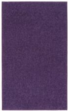 5 x 7 ft. Rectangle Accent Area Rug Bright Purple College Dorm Carpet Mat Home