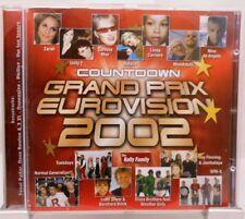 Compte à rebours grand prix EUROVISION 2002 + CD + Superbe album avec 19 forte chansons +