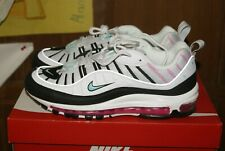 Womens Nike Air Max 98 Sz 11 Pure Platinum Aurora Green (AH6799 065)