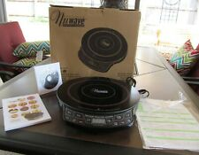 NuWave Precision Induction Cooktop Model 30101 Complete with Cookbook and DVD
