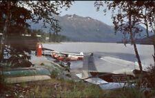 Moose Pass & Upper Trail Lake Alasaka AK Seaplane Airplane Aquaplane PC