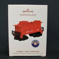 Lionel 1007 Caboose Train Red 2019 Hallmark Christmas Keepsake Ornament