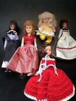 madame alexander dolls vintage - Lot Of 5