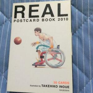 (Used) REAL Post Card Book 2010 - Takehiko Inoue / Anime Illustrations Book