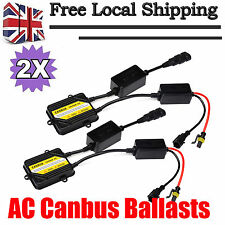 2Pcs 55W XENON HID AC CANBUS BALLAST FAST Bright 1S QUICK START SLIM REPLACEMENT