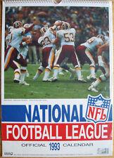 NFL National Football League Kalender 1993 Spiralbindung 30 x 42 cm 12 Poster