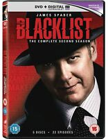 The Blacklist - Season 2 : Complete 2nd Series James Spader, Megan Boone New DVD