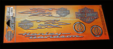 Harley Davidson Paint Job B&S with Flames Decal Shee decals