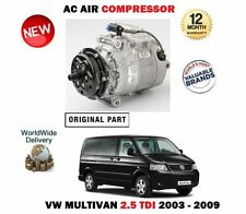 FOR VW MULTIVAN 2.5 TDI MPV + 4MOTION 2003-2009 AC AIR CONDITION COMPRESSOR UNIT