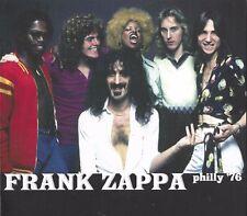 Frank Zappa – Philly '76     Live 2-cd
