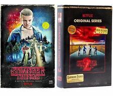 STRANGER THINGS Seasons 1 & 2 [Blu-ray + DVD] Collectors VHS Packaging Netflix