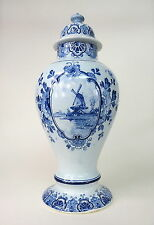 Delft Vase um 1900 Holland