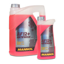 6 (5+1) Liter MANNOL Antifreeze AF12+ Frostschutz Fertiggemisch rot (-40°C)