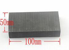 NEW High Purity 99.9% Graphite Ingot Block 100mm * 50mm * 20mm