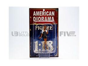 AMERICAN DIORAMA 1/18 - FIGURINES MECANICIENNE - SOFIE - 23859
