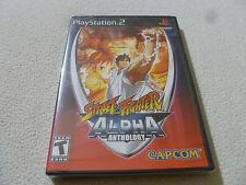 NEW FACTORY SEALED PLAYSTATION 2 PS2 GAME STREET FIGHTER ALPHA ANTHOLOGY CAPCOM