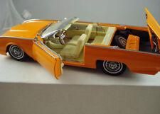 1962 Ford Thunderbird Custom Sunset Orange Pearl Danbury Mint 1:24