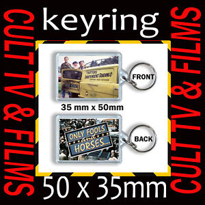 ONLY FOOLS AND HORSE DEL BOY RODNEY ALBERT - KEYRING 35MM X 50MM
