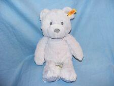 Steiff Teddy Bear Bearzy Lilac Soft Plush Toy Birthday Christening GIFT BOXED