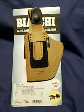 NEW Bianchi Model 6D 11 Waistband Natural Suede Leather Holster Right Hand 19042