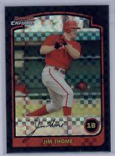 2003 Bowman Chrome Jim Thome Xfractor #130 Phillies RARE SP