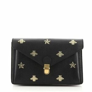Gucci Bee Belt Bag Printed Leather