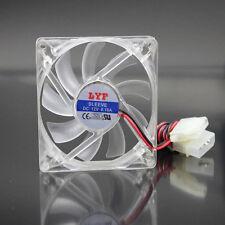 10pcs 12V 4Pin 8cm DC Cooling PC Computer Case Fan 80mm x 15mm Ventilation Fan