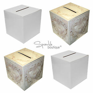 Wedding Card Post Box / Receiving Box / Wishing Well for Cards - Square