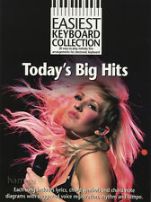 Easiest Keyboard Collection Today's Big Hits Easy Pop Music Book