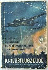 Aviazione militare KRIEGSFLUGZEUGE 1943 deutsche italienische britisch ecc. WW2