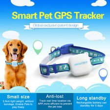 Waterproof Locator Dog Cat Pet GPS Tracker Tracking Devices Real Time Anti-lost