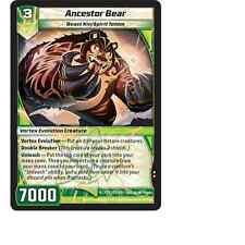 Kaijudo X3 ANCESTOR BEAR Uncommon #121/160 15VTX (Playset) Vortex DUEL MASTERS